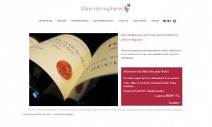 site e-commerce de cave à vin