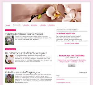 comment créer un blog sur les fleurs