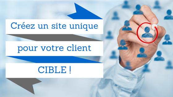 client cible