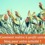 Qu'est-ce qu'un blog et comment le mettre à profit pour votre activité ?