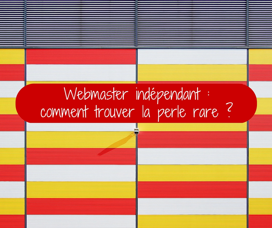 webmaster indépendant
