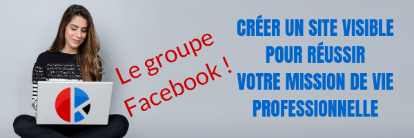 Groupe Facebook Site visible